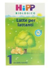 HIPP BIOLOGICO LATTE 1 IN POLVERE PER LATTANTI 600 G