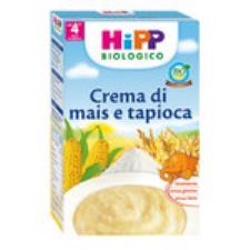 HIPP CREMA AI CEREALI - CREMA DI MAIS E TAPIOCA - DAL QUARTO MESE - 200 G