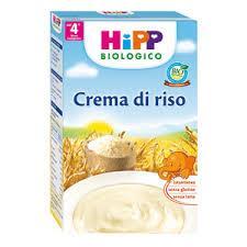 HIPP CREMA AI CEREALI - CREMA DI RISO - DAL QUARTO MESE - 200 G