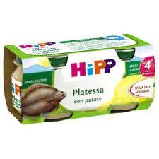 HIPP OMOGENEIZZATO PLATESSA CON PATATE - DAL QUARTO MESE - 2 x 80 G