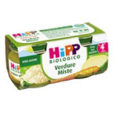 HIPP OMOGENEIZZATO VERDURE MISTE - DAL QUARTO MESE - 2 x 80 G