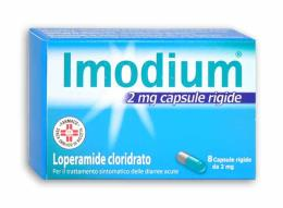 IMODIUM 2 MG 8 CAPSULE RIGIDE DA 2 MG