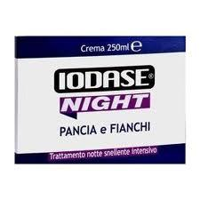 IODASE NIGHT PANCIA E FIANCHI CREMA 250 ml