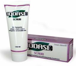 IODASE SCRUB crema levigante emolliente 200 ml