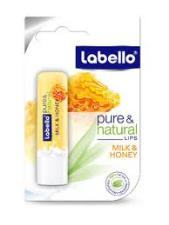 LABELLO PURE AND NATURAL LATTE E MIELE 5,5 ML