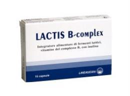 LACTIS B COMPLEX INTEGRATORE ALIMENTARE DI FERMENTI LATTICI - 15 CAPSULE