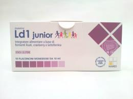 LD1 JUNIOR - INTEGRATORE DI FERMENTI - 10 FLACONCINI DA 10 ML