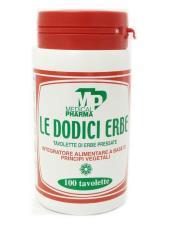 LE DODICI ERBE 100 TAVOLETTE