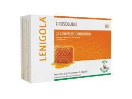 LENIGOLA® OROSOLUBILE GUSTO LATTE E MIELE 20 COMPRESSE