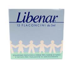 LIBENAR® SOLUZIONE FISIOLOGICA 15 FLACONCINI DA 5 ML
