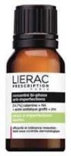 LIERAC PRESCRIPTION - PELLE ADULTA CON IMPERFEZIONI - CONCENTRATO BIFASICO ANTI IMPERFEZIONI - 15 ML