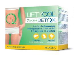LIFTYCOL 7 GIORNI DETOX - 7 COMPRESSE + 7 BUSTINE