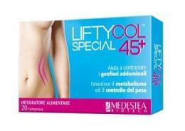 LIFTYCOL SPECIAL 45+ INTEGRATORE PER IL GONFIORE ADDOMINALE - 20 COMPRESSE