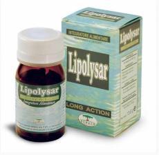 LIPOLYSAR LONG ACTION INTEGRATORE PER L'EQUILIBRIO DEL METABOLISMO LIPIDICO - 30 CAPSULE
