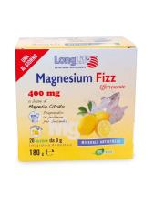 LONGLIFE MAGNESIUM FIZZ 400MG MAGNESIO IN POLVERE EFFERVESCENTE - 20 BUSTINE