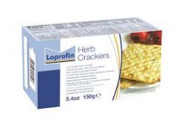 LOPROFIN CRACKERS ALLE ERBE AROMATICHE A BASSO CONTENUTO PROTEICO - 150 G