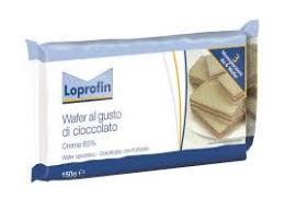 LOPROFIN WAFERS AL CIOCCOLATO A BASSO CONTENUTO PROTEICO - 150 G