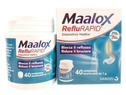 MAALOX REFLURAPID 40 COMPRESSE