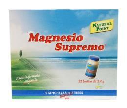 MAGNESIO SUPREMO 32 BUSTINE DA 2,4 G