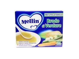 MELLIN BRODO DI VERDURE 10 BUSTINE MONODOSE DA 8 G