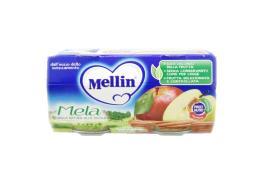 MELLIN® OMOGENEIZZATO MELA DAL QUARTO MESE COMPIUTO 2 x 100 G