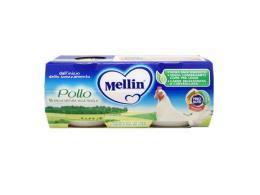 MELLIN® OMOGENEIZZATO POLLO DAL QUARTO MESE COMPIUTO 2 x 80 G