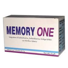 MEMORY ONE INTEGRATORE ALIMENTARE -12 BUSTINE
