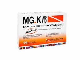 MGK VIS INTEGRATORE MAGNESIO POTASSIO GUSTO ARANCIA - 14 BUSTINE DA 4 G