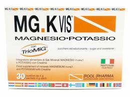 MGK VIS MAGNESIO POTASSIO GUSTO ARANCIA 30 BUSTINE DA 4 G