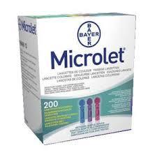 MICROLET LANCETTE - 200 PEZZI