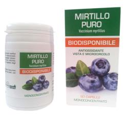MIRTILLO PURO BIODISPONIBILE 50 CAPSULE DA 500 MG
