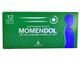MOMENDOL 220 MG 12 COMPRESSE RIVESTITE