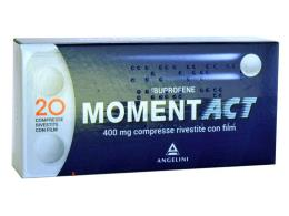 MOMENT ACT 400 MG 20 COMPRESSE RIVESTITE