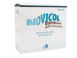 MOVICOL BAMBINI GUSTO CIOCCOLATO - 20 BUSTINE DA 6.9 G