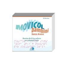 MOVICOL BAMBINI SENZA AROMA - 20 BUSTINE DA 6,9 G