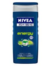 NIVEA FOR MEN DOCCIA GEL ENERGY - 250 ML