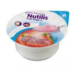 NUTILIS FRUIT INTEGRATORE ALIMENTARE AD ELEVATA CONCENTRAZIONE ENERGETICA GUSTO FRAGOLA - 3 x 150 G