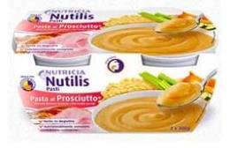 NUTILIS PASTI INTEGRATORE ALIMENTARE AD ELEVATA DENSITA' ENERGETICA GUSTO PASTA CON PROSCIUTTO - 2 x 300 G