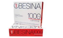 OBESINA 1000 MG CARNITINA - PREPARATO AL GUSTO DI CAPPUCCINO - 4 BUSTE DA 26 G