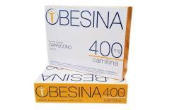OBESINA 400 MG CARNITINA - PREPARATO AL GUSTO  DI CAPPUCCINO - 4 BUSTE DA 26 G