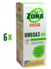 OMEGA 3 RX ENERZONA 6 CONFEZIONI DA 120 CAPSULE
