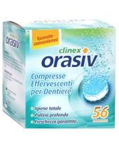ORASIV CLINEX PROTESI DENTALI 56 COMPRESSE EFFERVESCENTI