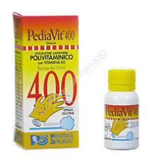 PEDIAVIT 400 POLIVITAMINICO IN GOCCE INTEGRATORE ALIMENTARE DI VITAMINE - 15 ML