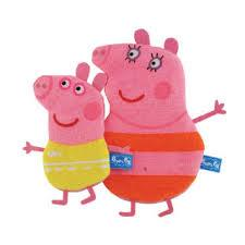 PEPPA PIG SPUGNA PER IL BAGNETTO FOR MOMMY AND ME - 2 SPUGNE
