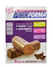 PESOFORMA BARRETTA AL CIOCCOLATO AL LATTE 12 CONFEZIONI