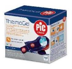 PIC SOLUTION THERMOGEL CUSCINO PER TERAPIA CALDO FREDDO FASCIA ELASTICA REGOLABILE 10 x 26 CM