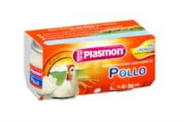 PLASMON OMOGENEIZZATO POLLO - DA 4 A 36 MESI - 2 x 80 G