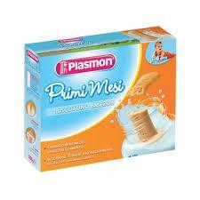PLASMON PRIMI MESI BISCOTTINO BIBERON - CON GLUTINE - DA 4 A 36 MESI - 450 G