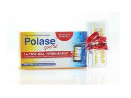 POLASE SPORT - 10 BUSTINE DA 20 G + custodia impermeabile per cellulare in omaggio