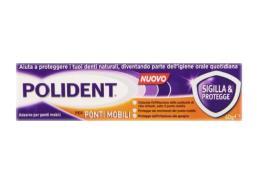 POLIDENT® SIGILLA E PROTEGGE - CREMA ADESIVA PONTI MOBILI - 40 ML
